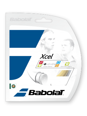 Babolat XCEL multifilament snaar natural