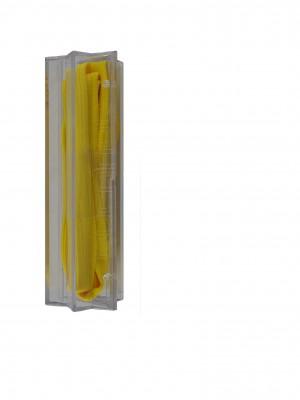 Rucanor fluo platte veters geel