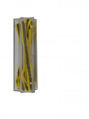 Rucanor fluo reflectie veters geel