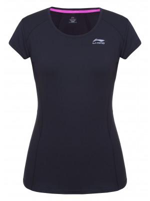 Li-Ning Lara tennisshirt zwart