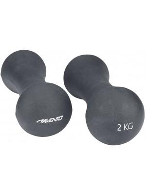 Avento dumbbells handgewicht set 2x2 kg