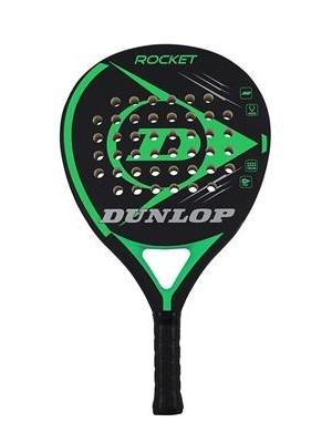 Dunlop padel racket rocket green