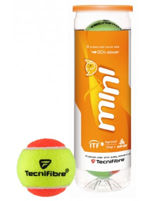 Tecnifibre Stage 2 SOFT oranje 3TIN