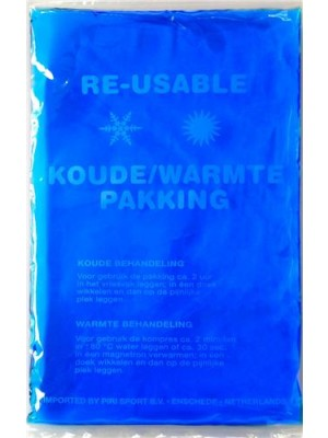 Sportec Re-usable koude/warmtepakking