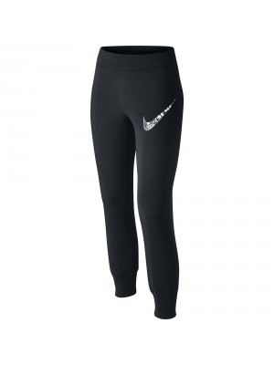 Nike N40 skinny brushed fleece graphic cuffed