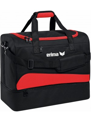 Erima club 1900 2.0 sporttas bodemvak rood Medium