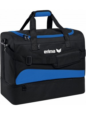 Erima club 1900 2.0 sporttas bodemvak blauw Small