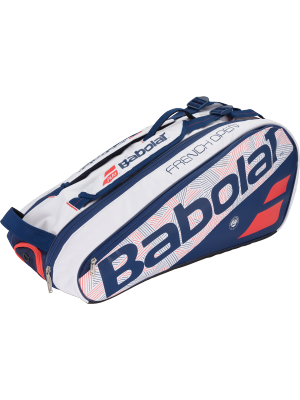 Babolat racket holder X6 pure line Roland Garros