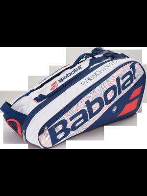 Babolat racket holder X6 pure line Roland Garros
