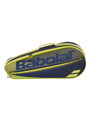 Babolat racket holder X3 club zwart/geel
