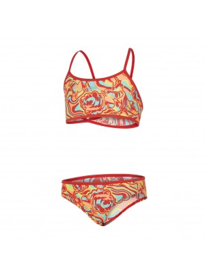 Speedo endurance10 colm allover croptop bikini