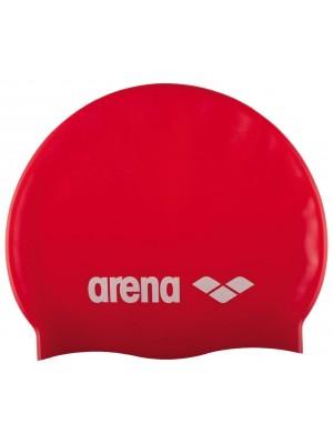 Arena classic siliconen badmuts rood