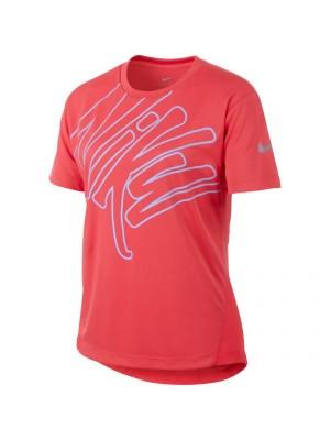 Nike dry run s/s graphic top
