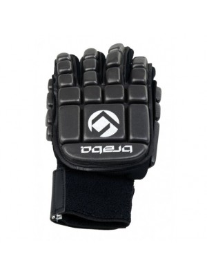 indoor glove foam full left-hand black