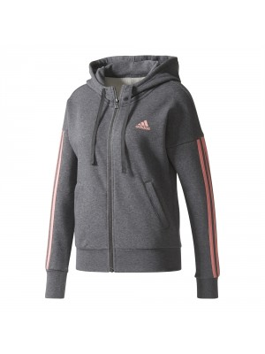 Adidas essentials 3S fullzip hooded