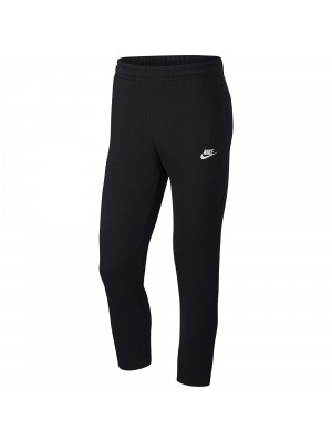 Nike sportswear club pant open hem french terry