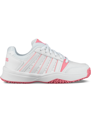 K.Swiss court smash omni kids pink