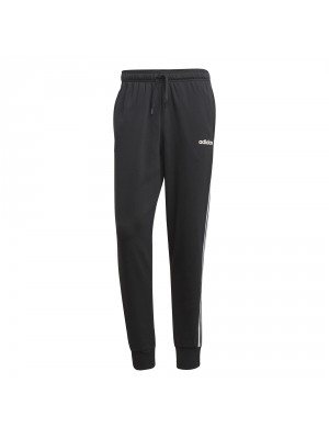 Adidas 3S track pant french terry zwart