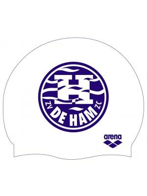Arena De Ham badmuts wit met logo