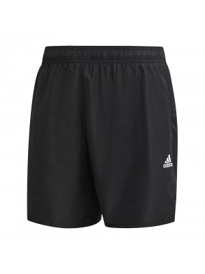 Adidas solid swimshort zwart