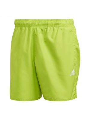Adidas solid swimshort green