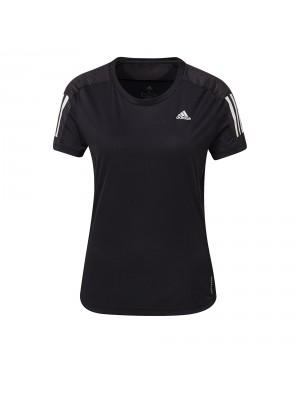 Adidas own the run tee black