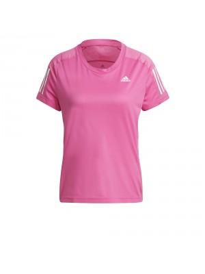 Adidas own the run tee rose