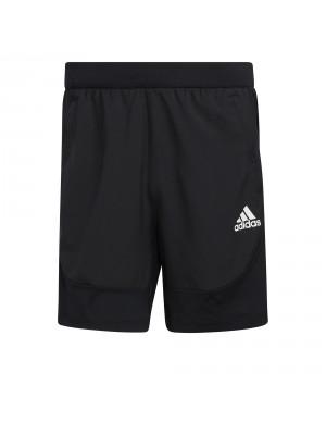 Adidas aero 3S short zwart