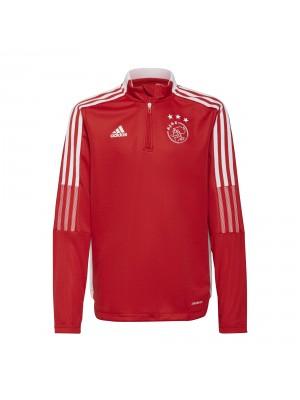 Adidas Ajax training top kids red