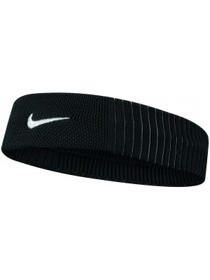 Nike dri-fit reveal headband zwart