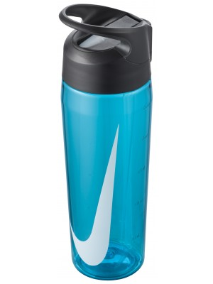 Nike TR hypercharge straw bottle 24oz blue