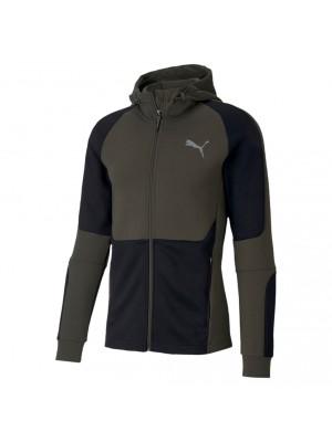 Puma evostripe fullzip hoodie forest