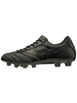 Mizuno morelia II pro voetbalschoen leather black