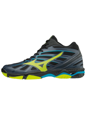 Mizuno wave hurricane 3 mid blue