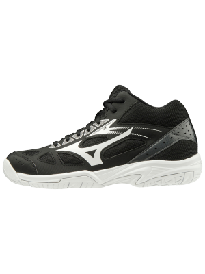 Mizuno cyclone speed 2 mid junior zwart
