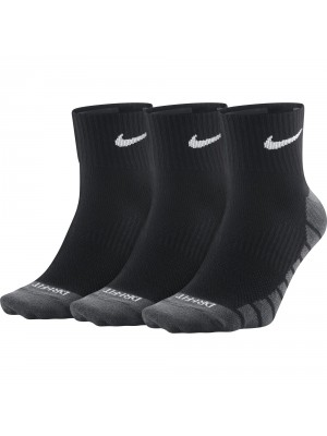 Nike Dry Lightweight Quarter Training Sock 3-pack