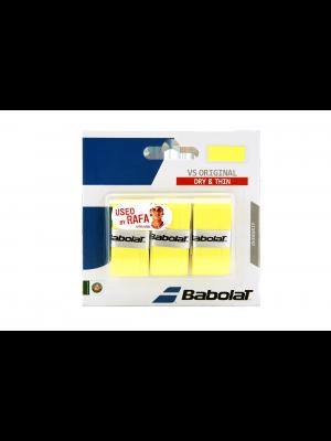 Babolat VS original  X3 overgrip geel