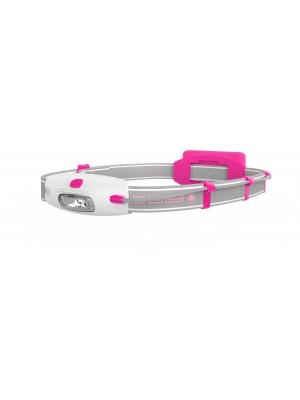 Ledlenser NEO pink hoofdlamp