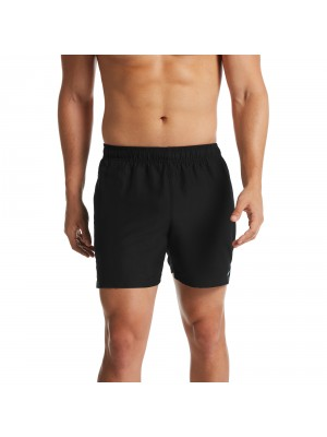 "Nike solid lap 5"" volley short zwart"