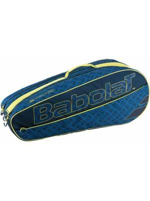 Babolat racket holder X6 classic club blue