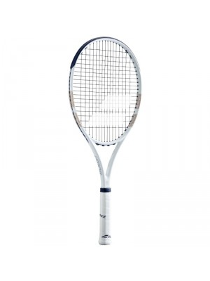 Babolat boost LTD Wimbledon strung tennisracket