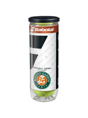 Babolat Roland Garros tennisbal 3-pack