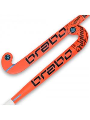 Brabo junior O'Geez hockeystick oranje