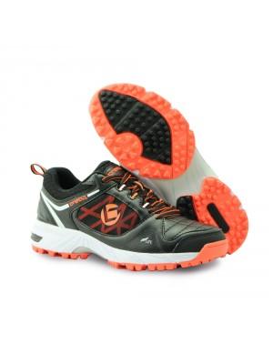 Brabo tribute kunstgras schoen zwart/oranje