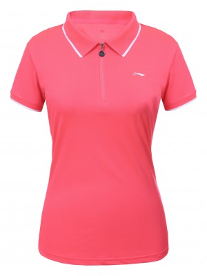Li-Ning Maia tennispolo rose