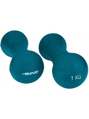 Avento dumbbells handgewicht set 2x1 kg