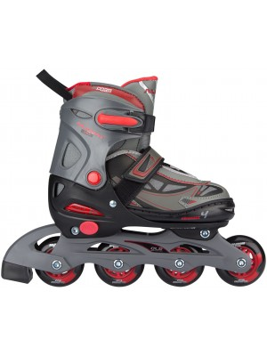 Nijdam inline skate jr. verstelbaar semi softboot