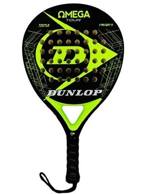 Dunlop padel racket omega tour yellow fluor