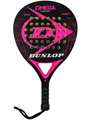 Dunlop padel racket omega tour pink fluor