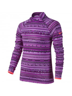 Nike pro hyperwarm flash mock